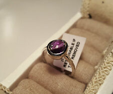 Cabochon Natural Not Enhanced Amethyst Fine Rings