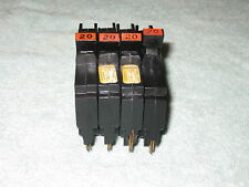 Fpe 20 Amp 1 Pole Stab Lok Type Nc Or Thin Federal Pacific Breakers Nc120