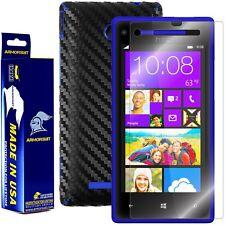 ArmorSuit MilitaryShield Htc Windows Phone 8X Screen + Black Carbon Fiber Skin!