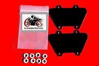 Kawasaki KZ1000 KZ 1000 Exhaust Emissions Reed Plate Smog PAIR Block Off Kit