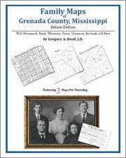 Family Maps Grenada County Mississippi Genealogy MS