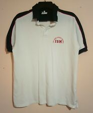ISM INTERNATIONAL SCHOOL OF MILAN WHITE POLO SHIRT FOR A WORLD WITHOUT FRONTIERS