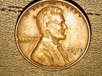 Rare 1939 S Wheat Penny *mint error*