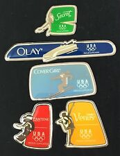 Procter Gamble Inukshuk Olympic Pin Set Team USA 2010 Vancouver Winter Olympics
