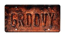 Ash vs Evil Dead | Ash's Oldsmobile | GROOVY | Metal Stamped Prop License Plate