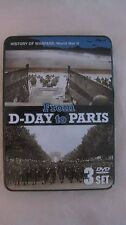 History Of Warfare World War 2 From D-Day To Paris 3 DVD Set Collector Tin dvd30
