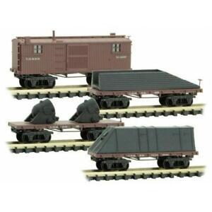 Micro-Trains 99301980 N Scale Civil War Era Merchants USMRR Armored 4 Pack