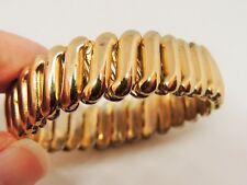 Lovely Vintage, 9K Rolled Gold, Expandable Bracelet. (598)