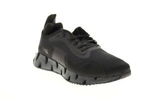 Reebok Zig Dynamica Reecycle FY7062 Mens Black Canvas Athletic Running Shoes