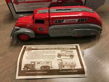 ERTL COASTAL GAS 1936 DODGE AIR FLOW DIE CAST BANK NEW, NEVER DISPLAYED WITH COA