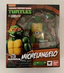 TMNT Teenage Mutant Ninja Turtles Action Figures Bandai Michelangelo