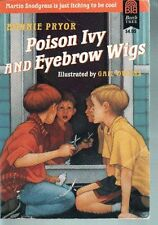 Poison Ivy and Eyebrow Wigs
