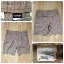 "NIKE Golf Men's Shorts Size 36"" Polyester Beige"