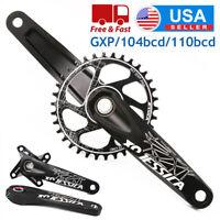 JESSICA GXP 170mm Crankset 32/34/36/38T Chainring MTB Bike Chainset Crank Chain