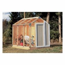 Fast Framer Universal Outdoor Home Yard Storage Tool Shed Playhouse Framing Kit