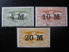 OBERSCHLESIEN UPPER SILESIA GERMAN PLEBISCITES Mi. #41-43 stamp set! CV $12.00