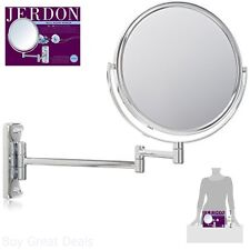 Chrome Magnifying Mirror 2 Side Bathroom Shaving Glass 5X Magnification New