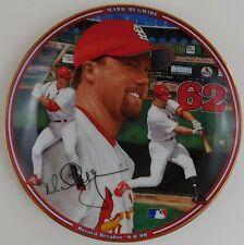 Bradford Exchange Mlb Mark McGwire Home Run Hero 1998 Collector Plate