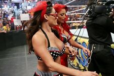 The Bella Twins Nikki Bella 4x6 WWE Divas Photo 02