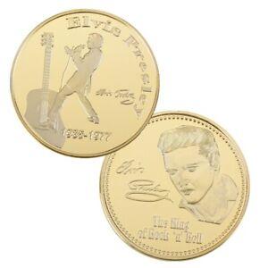 "Elvis Presley ""The King"" Coin / Token in Capsule. BEAUTIFUL"