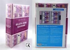 NEU: Leuchtturm Album für 420 x 0-Euro Souvenir Banknoten Billets