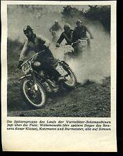Simson-- Die Spitzengruppe des Laufes --Werbung von 1959