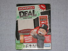 Monopoly Deal Card Game with Shuffle Shaker Parker Brothers 2008 Sealed Cards