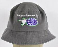Gray Bags of Fun Kansas City Non-Profit Fishing Style Bucket hat cap Fitted