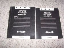 1991 Dodge Stealth Factory Shop Service Repair Manual Set R/T Twin Turbo