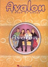 AVALON A Maze Of Grace piano vocal guitar sheet music songbook Christian