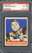 1948 Leaf Football Charlie Justice #15 PSA 6