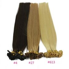 1g/s 100g Human virgin Hair Keratin Nail or U tip Hair Extensions 16inch-22inch