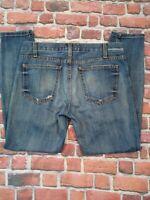 Current Elliott Stiletto Womens Skinny Jeans 28 Distressed Denim
