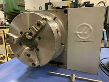 2008 Haas Hrt 450 Rotary Table Indexer 4th Axis 177 Platter With75 Hole Cnc