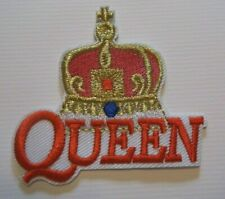 "Queen~Freddie Mercury~British Rock~Embroidered Patch~2 3/4"" x 2 5/8""~Iron~Sew"