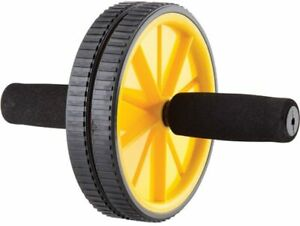 Gold's Gym Ab Wheel Dual Wheels Core and Upper Body Workout NEW