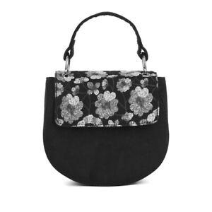 Ruby Shoo Women's Black Acapulco Clutch Bag (Matches Victoria Flats)