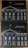 2007 American Legacy Collection Coin Set Original Mint Packaging