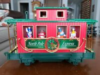Eztec G-Scale Christmas North Pole Express Train Railroad Caboose