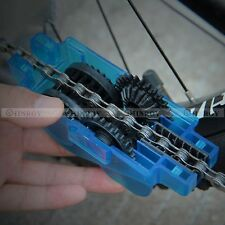 Bike Chain Cleaner Tool Chain Washer Machine Brushes Scrubber Cleaning Tool