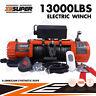 ZESUPER Electric Winch 13000lbs 12V Truck Jeep  New Remote Control 4WD