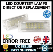 BMW X5 E70 X6 E71 18 SMD LED UNDER DOOR FOOTWELL LIGHTS UPGRADE UNITS