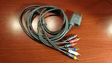 1214 Microsoft Xbox 360 Component Cable HD AV Optical Audio Out X810972-002