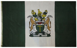 3x5 Rhodesia Rhodesian Country 3'x5' Rough Tex 100D Oxford Polyester Flag