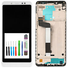 Original Xiaomi Redmi Note 5 Display LCD complete with Frame Touch White