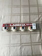 New Labeda Gripper Roller Hockey Inline Wheels 59mm Soft 4-Pack