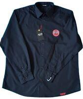 BACARDI - Black Long Sleeved Shirt - MEDIUM ***BRAND NEW WITH TAGS***