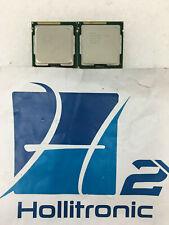 Lot of 2 Intel Core i3-2100 SR05C 3.10GHz LGA 1155 Desktop CPU *USED*