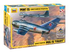 """Zvezda Model 7317 Soviet fighter MiG-15 """"Fagot"""", scale 1/72"""