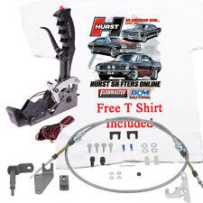 HURST Black Pistol Grip Q-Stick Shifter PowerGlide Reverse T350-400 FREE T SHIRT